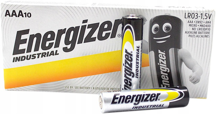 BATERIA ENERGIZER INDUSTRIAL PRO TYP AAA 10SZT